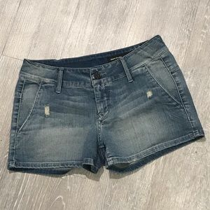 Black Orchid NWOT Washed Jean Shorts